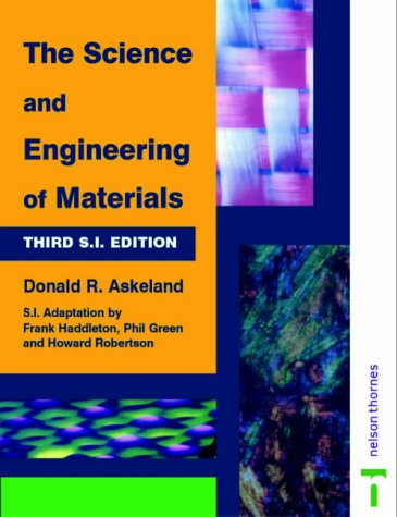 9780748740833: Science and Engineering of Materials -3rd SI Ed