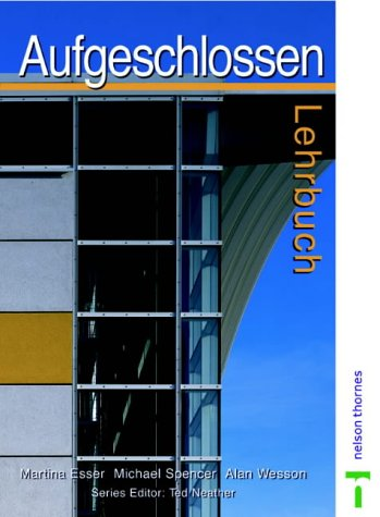 9780748743469: Aufgeschlossen: Lehrbuch (English and German Edition)