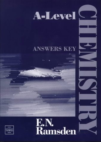 9780748753000: A-Level Chemistry: Answers Key
