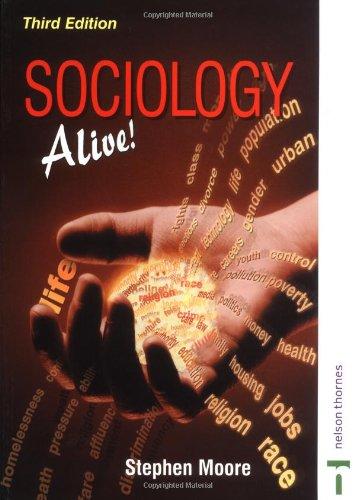 Sociology Alive!: Moore, Stephen