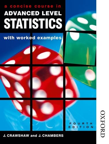 9780748754755: A Concise Course in A-Level Statistics with worked examples