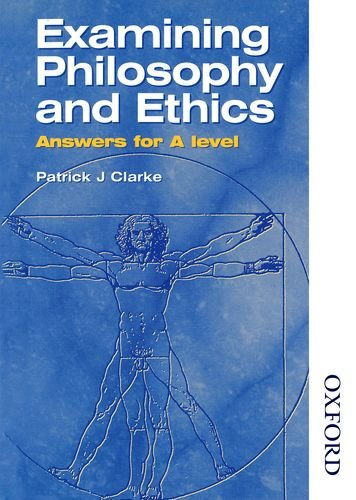 9780748760091: Examining Philosophy and Ethics Answers for A Level