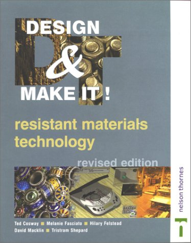 GCSE Resistant Materials Technology: Melanie Fasciato; Ted