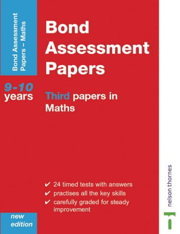 9780748761876: Bond Assesment Papers: Third Papers in Maths 9-10 Years