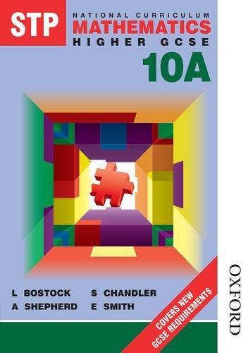 9780748762156: Stp National Curriculum Mathematics 10a Pupil Book (Stp Maths) (Bk.10A)