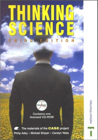9780748762316: Thinking Science