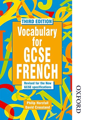 9780748762736: Vocabulary for GCSE French - 3rd Edition