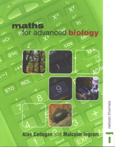 9780748765065: Maths for Advanced Biology (Maths for Advanced Science)
