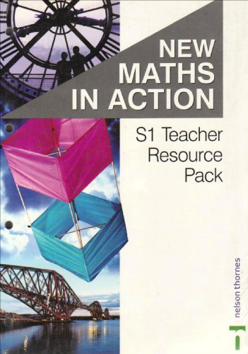 9780748765188: New Maths in Action S1/1 & S1/2 Teacher Resource Pack: Teacher Resource Pack S1/1 & S1/2