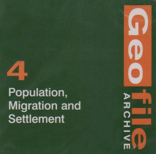 9780748766253: GeoFile Archive: Population, Migration and Settlement No. 4
