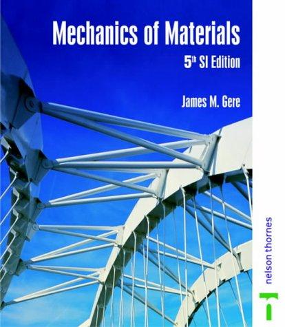 9780748766758: Mechanics of Materials - 5th Si Ed No Us Rights