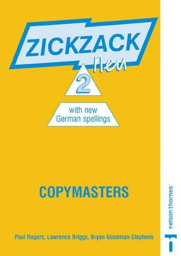 9780748767106: Zickzack neu 2 - Copymasters: Copymasters Stage 2