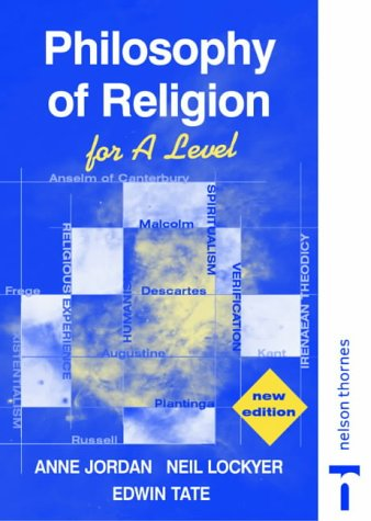 9780748767601: Philosophy of Religion for A Level