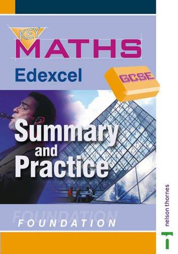 9780748767700: Key Maths GCSE: Summary and Practice: Summary and Practice Foundation Edexcel (Key Maths for GCSE)