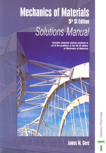 9780748769896: Mechanics of Materials - 5th Si Ed - Solutions Manual No Us Rights