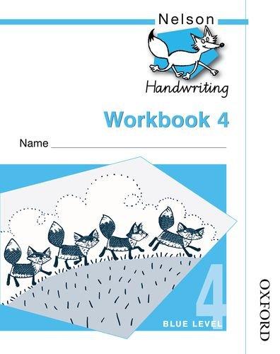 9780748770137: Nelson Handwriting: Workbook 4(package of 10)
