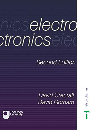 Electronics 9780748770366 Providing an introduction to good engineering practice for electrical and electronic engineers, this book is intended for first- and sec