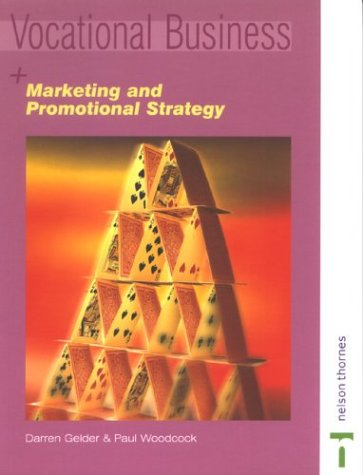 9780748771110: Marketing & Promotional Strategy (Vocational Business)