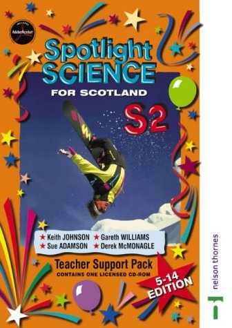 9780748771158: Spotlight Science for Scotland: Teacher Support CD S2