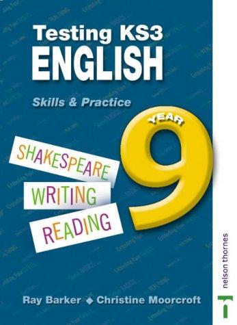 9780748771325: Testing KS3 English: Year 9