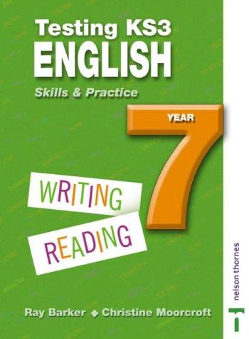 9780748771332: Testing KS3 English Skills and Practice Year 7