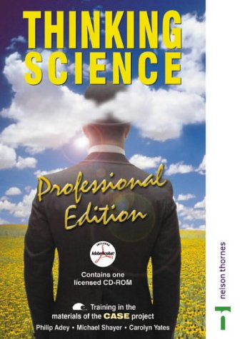 9780748773817: Thinking Science - Professional Edition CD-ROM