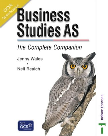 9780748775330: OCR Business Studies AS: The Complete Companion