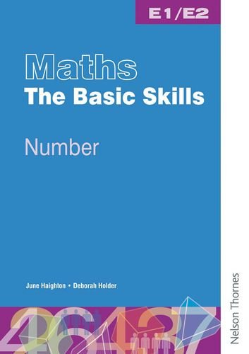 9780748777013: Maths the Basic Skills Number Worksheet Pack E1/E2 ...