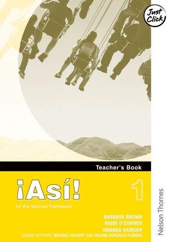 9780748778126: !Asi! 1Teacher's Book
