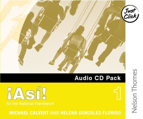 9780748778133: !Asi! 1- Audio CD Pack