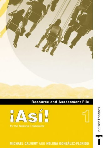9780748778164: !Asi! 1 - Resource and Assessment File (English and Spanish Edition)