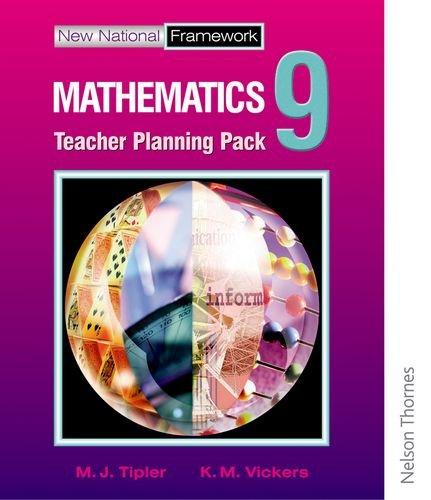 9780748778881: New National Framework Mathematics 9 Core Teacher Planning Pack