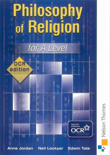 9780748780785: Philosophy of Religion for A Level - OCR Edition
