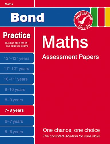 9780748781065: Bond First Papers in Maths 7-8 years New Edition (Bond Assessment Papers)