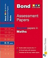 9780748781096: Bond Second Papers in Maths 8-9 years: Years 8-9 (Bond Assessment Papers)