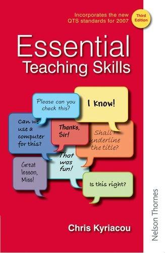 9780748781614: Essential Teaching Skills