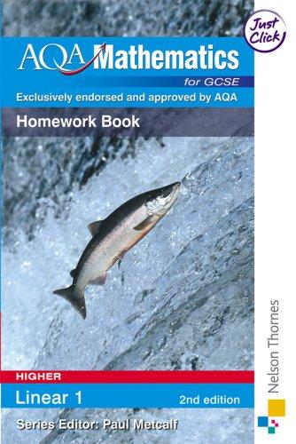 AQA GCSE Mathematics for Higher Linear 1: Thornton, Margaret and