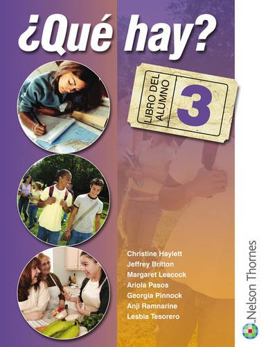 9780748782536: 'Que Hay? Student's Book 3 (Spanish Edition)