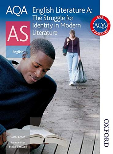 9780748782925: AQA English Literature A AS: The Struggle for Identity in Modern Literature