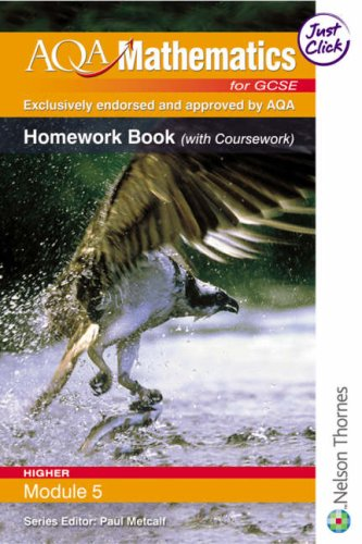 AQA Mathematics for GCSE Modular Higher Module: Thornton, Margaret and