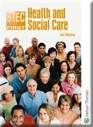 9780748783892: BTEC First Health and Social Care
