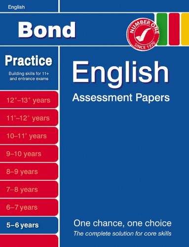 9780748784646: Bond Assessment Papers in English 5-6 years: Introductory Papers in English 5-6 Years