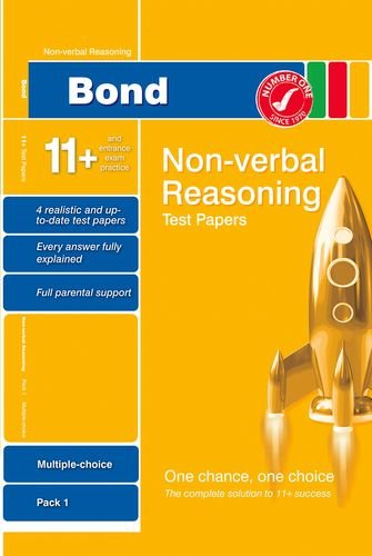 9780748784950: Bond 11+ Test Papers Non-Verbal Reasoning Multiple Choice Pack 1