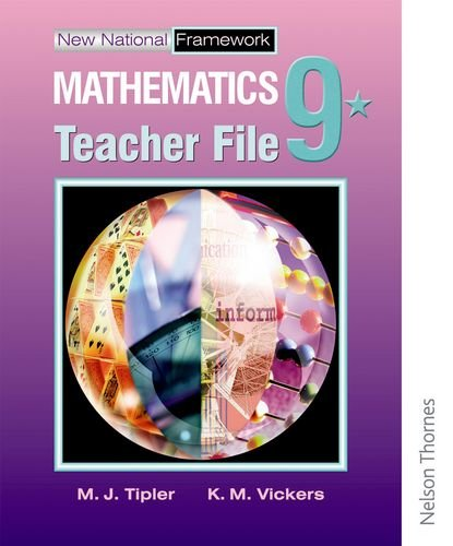 9780748786169: New National Framework Mathematics 9* Teacher Support File