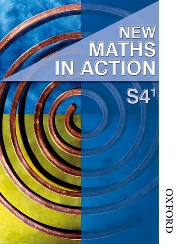 9780748790470: New Maths in Action S4/1 Student Book: Student Book S4/1