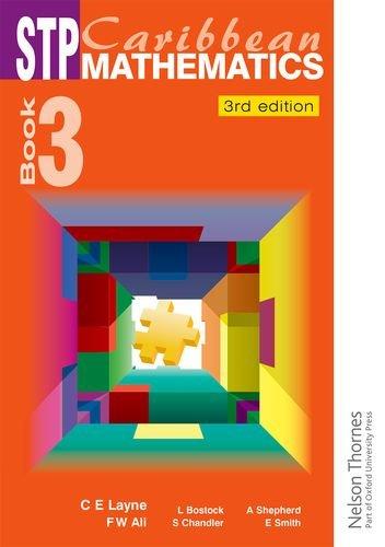 STP Caribbean Maths Book 3 (Paperback): Linda Bostock, Sue