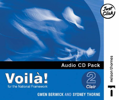 9780748790920: Voila! 2 Clair Audio CD Lower Pack X4 (English and French Edition)