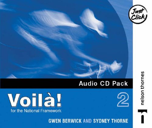 9780748790968: Voila! 2 Audio CD Higher Pack X4 (English and French Edition)