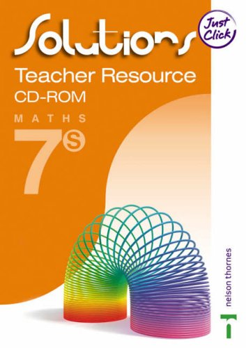 9780748793334: Solutions: Teacher Resource File CD-ROM Support Book 7