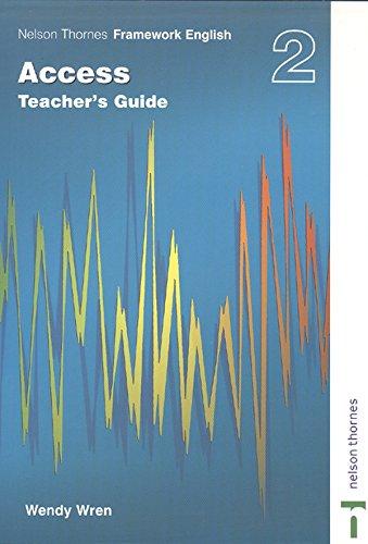 9780748793501: Nelson Thornes Framework English Access: Teachers Guide 2